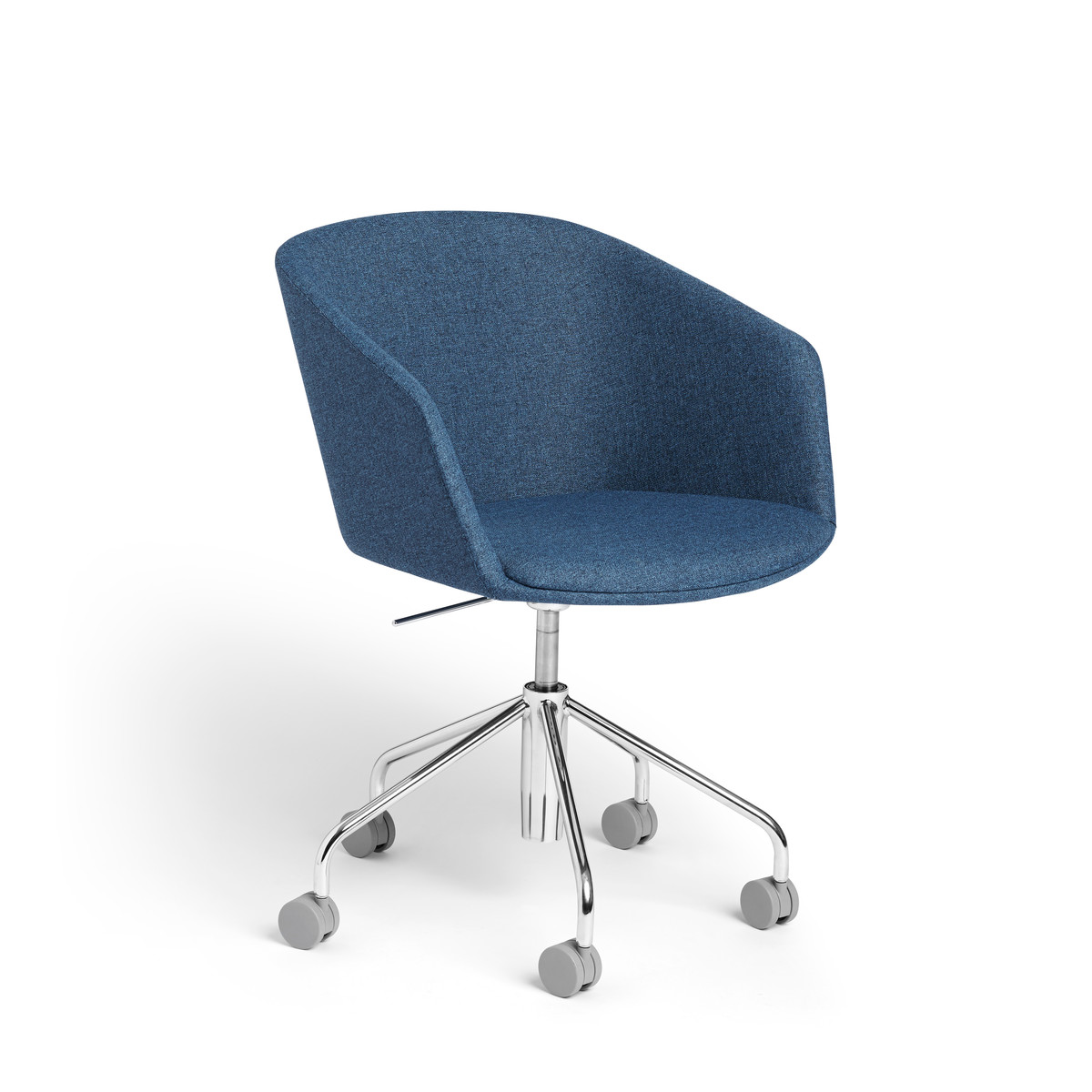 Incroyable Dark Blue Pitch Meeting Chair,Dark Blue,hi Res