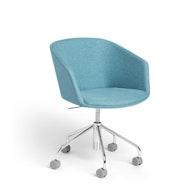 Blue Pitch Meeting Chair,Blue,hi-res