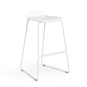 White Upbeat Stool