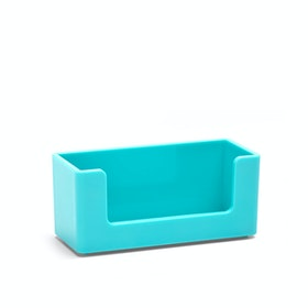 Aqua Business Card Holder