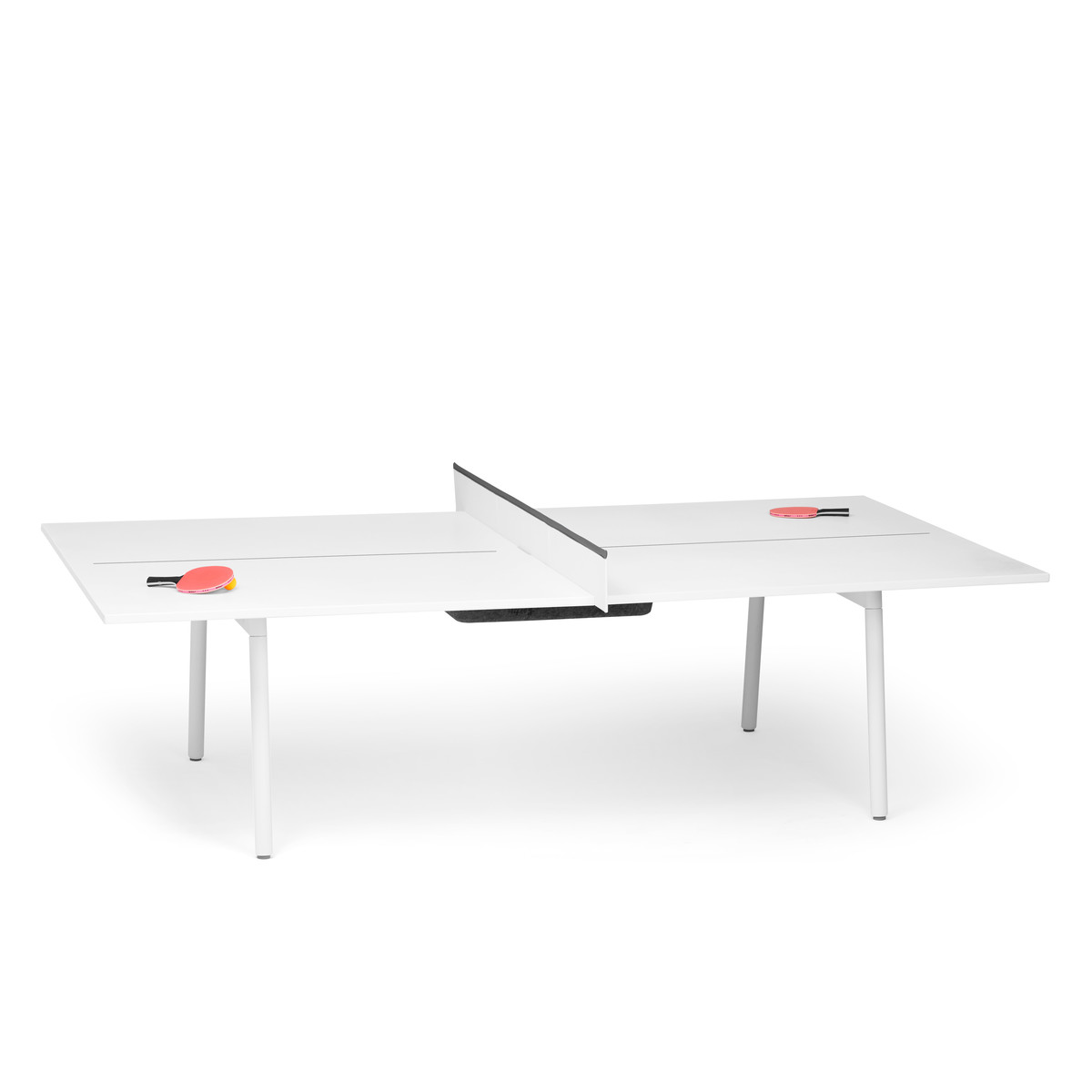 Series A PingPong Conference Table Modern Office Furniture Poppin - Series a conference table