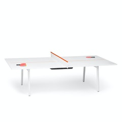 White Orange Series A Ping Pong Conference Table Hi Res