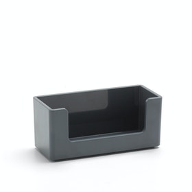 Dark Gray Business Card Holder