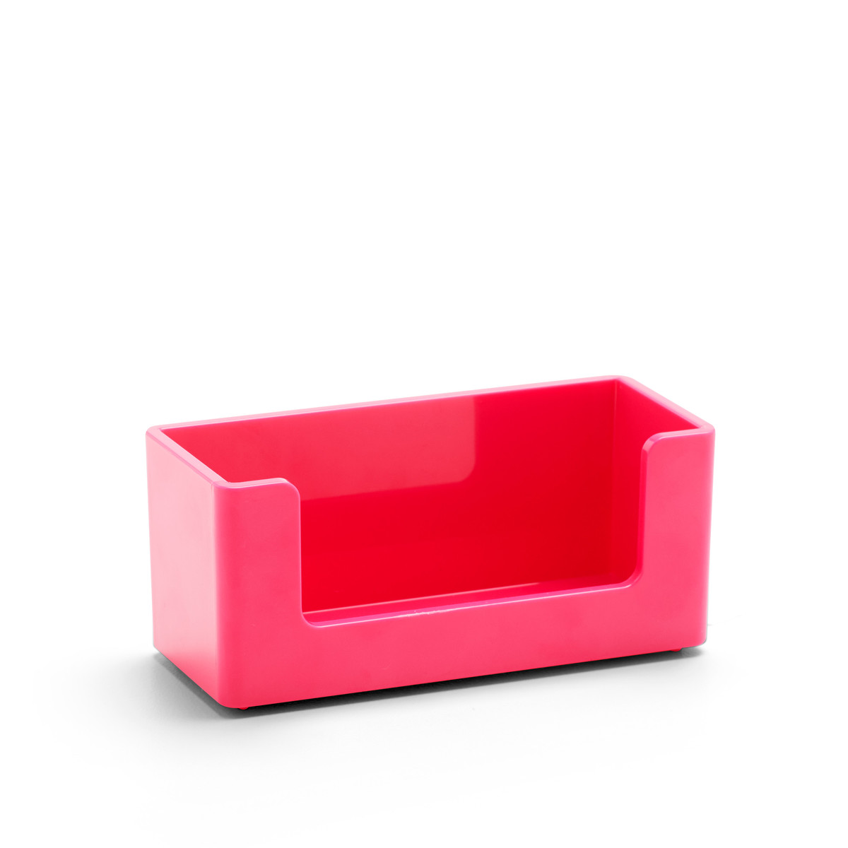 Pink Business Card Holder | Desk Accessories| Poppin