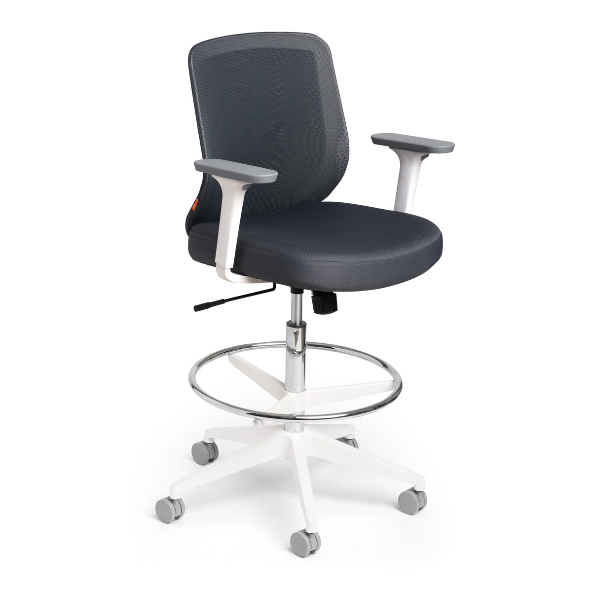 office drafting chair. Dark Gray Max Drafting Chair, Mid Back, White Frame,Dark Gray,hi. Loading Zoom Office Chair R