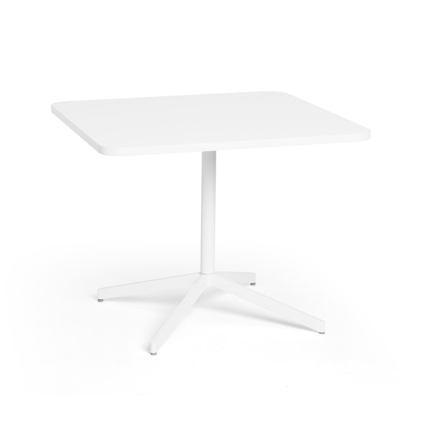 "White Touchpoint Meeting Table, 36"", White Legs,White,hi-res"