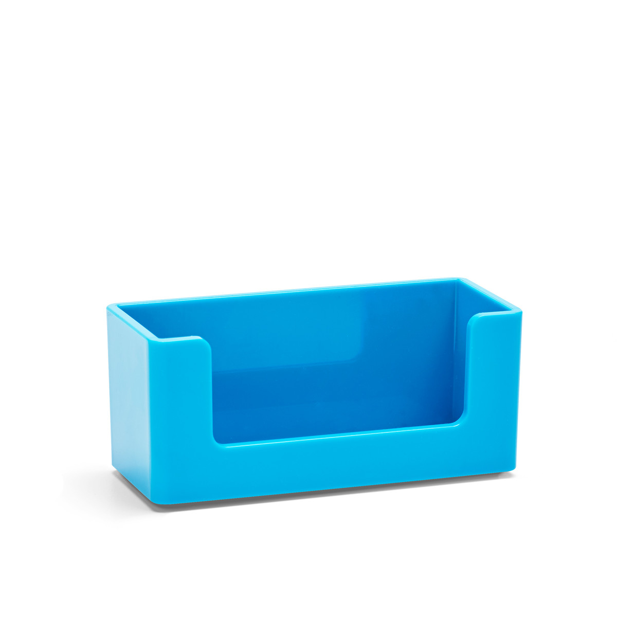 Pool Blue Business Card Holder| Desk Accessories & Organization | Poppin