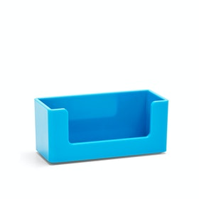 Pool Blue Business Card Holder