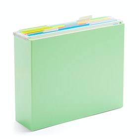 Mint File Box