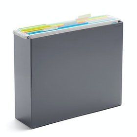 Dark Gray File Box