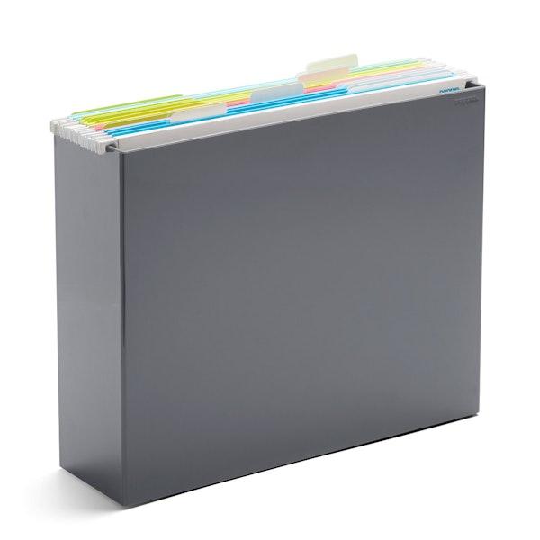 Dark Gray File Box,Dark Gray,hi-res