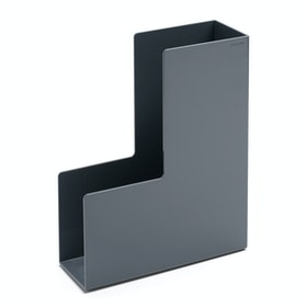 Dark Gray Magazine File Box,Dark Gray,hi-res