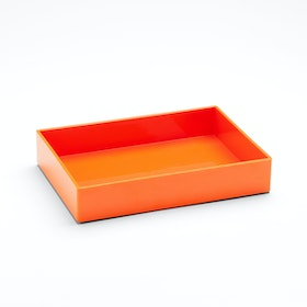 Orange Medium Accessory Tray