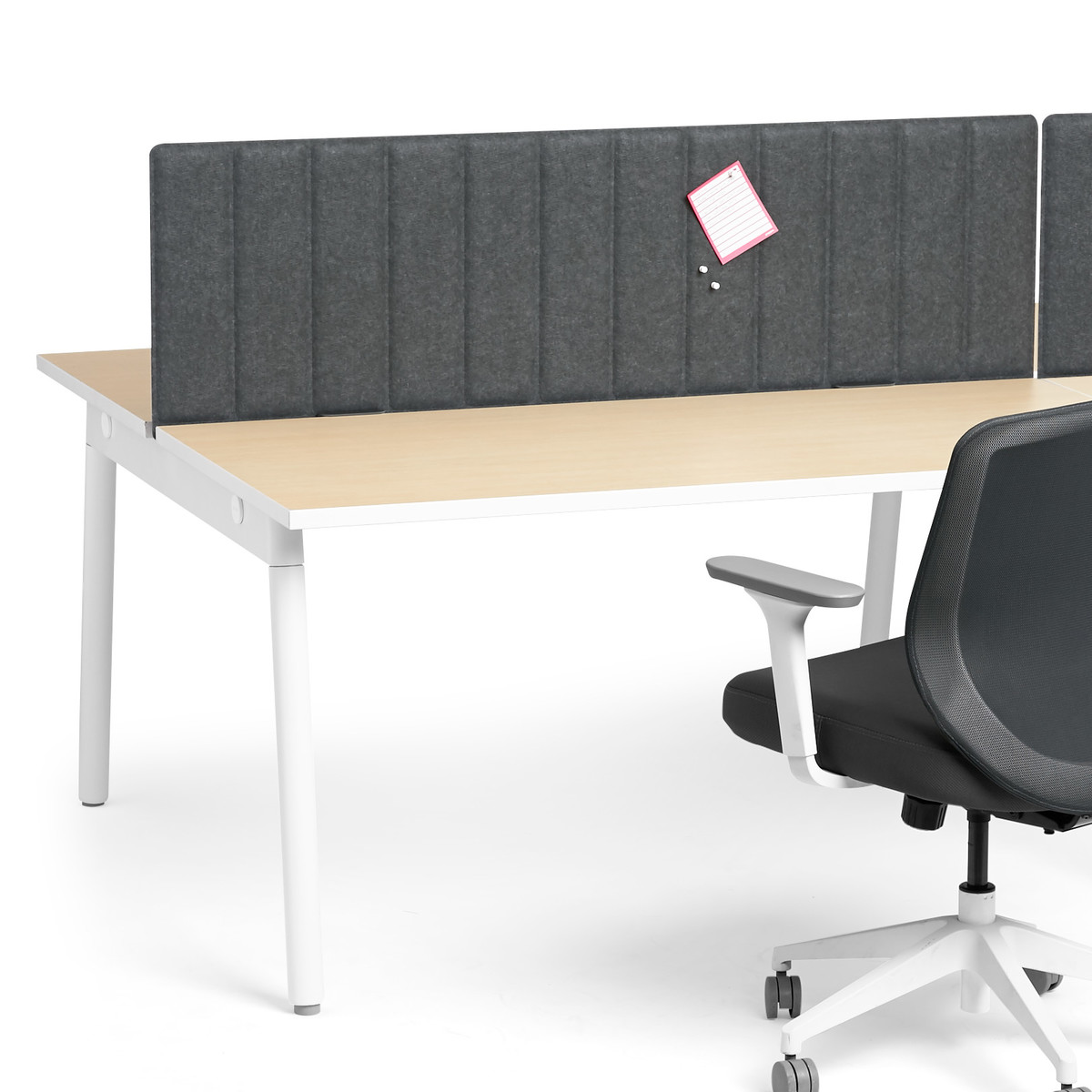 Dark Gray Series A Desktop Pet Privacy Panel 57 Spanning Clips Loading Zoom