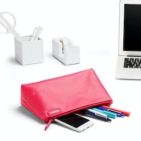 Pink + Aqua Medium Accessory Pouch