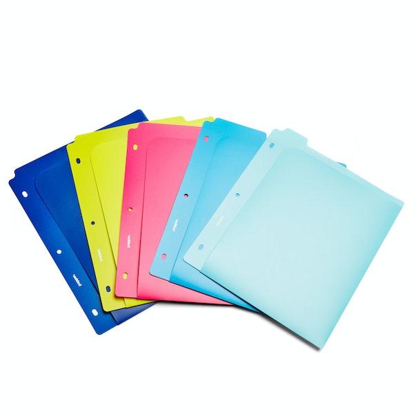 Assorted Poly Pocket Dividers, Set of 5,,hi-res