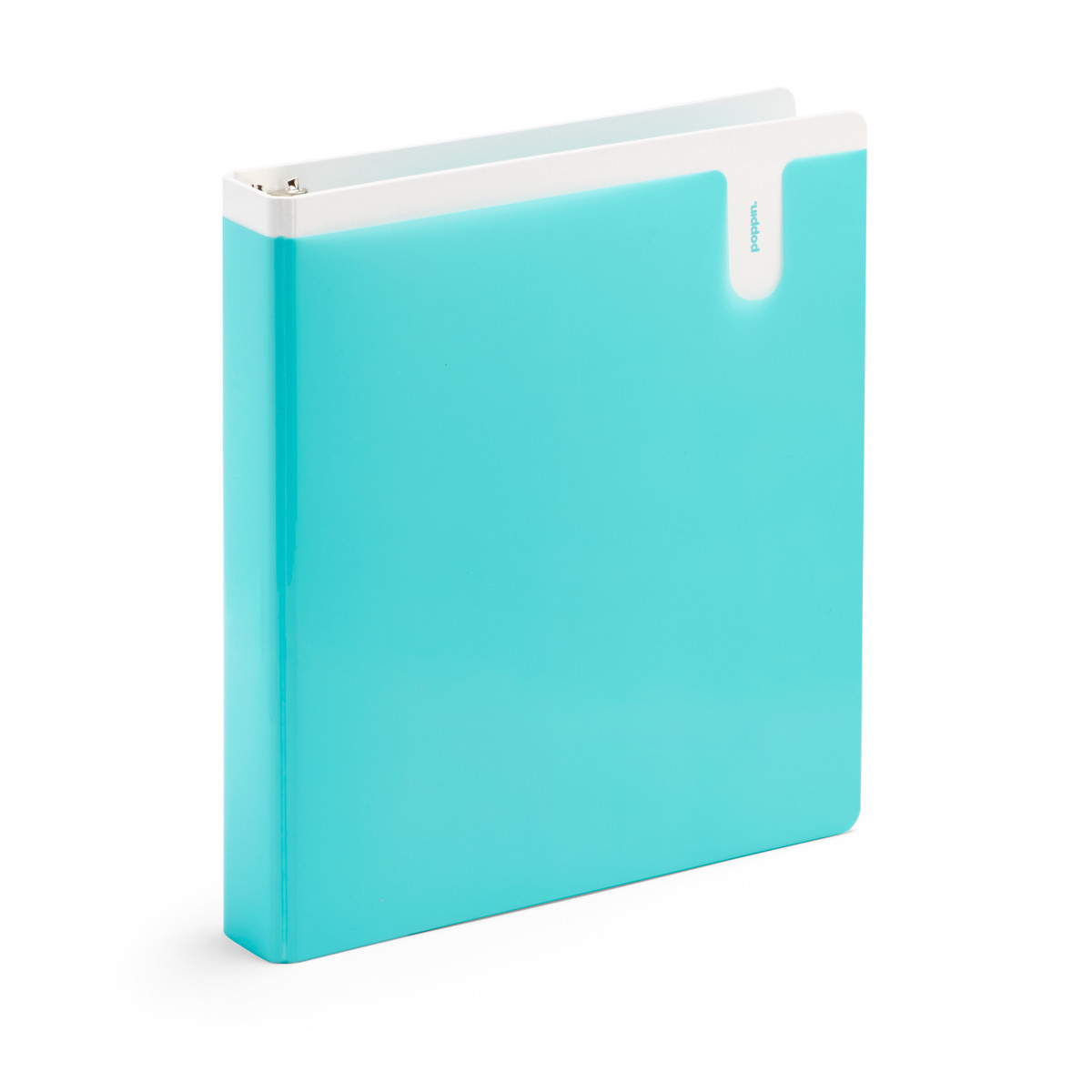 aqua 1 pocket binder desk accessories organization poppin