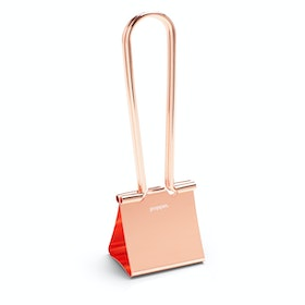 "Metallic Copper XXL 2.5"" Binderclip"