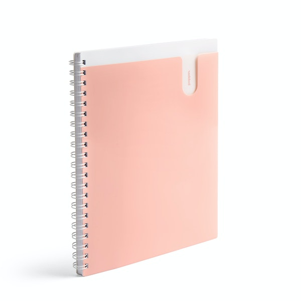 Blush 1-Subject Pocket Spiral Notebook,Blush,hi-res