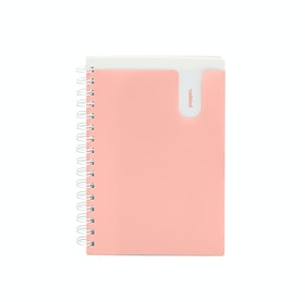 Blush Medium Pocket Spiral Notebook