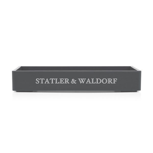 Custom Dark Gray Small Accessory Tray,Dark Gray,hi-res