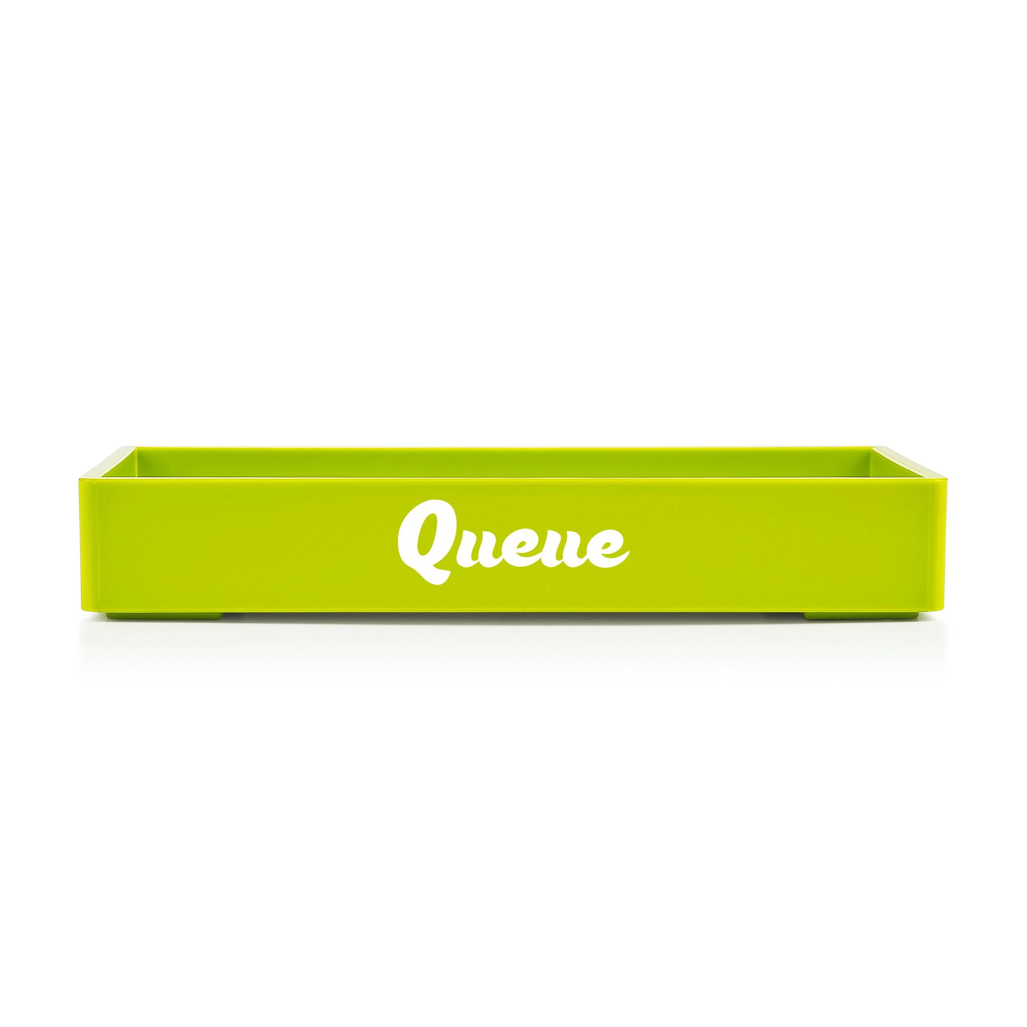 Custom Lime Green Small Accessory Tray Hi Res