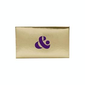 Custom Gold Card Case