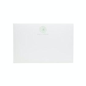 Custom White Soft Cover Folio