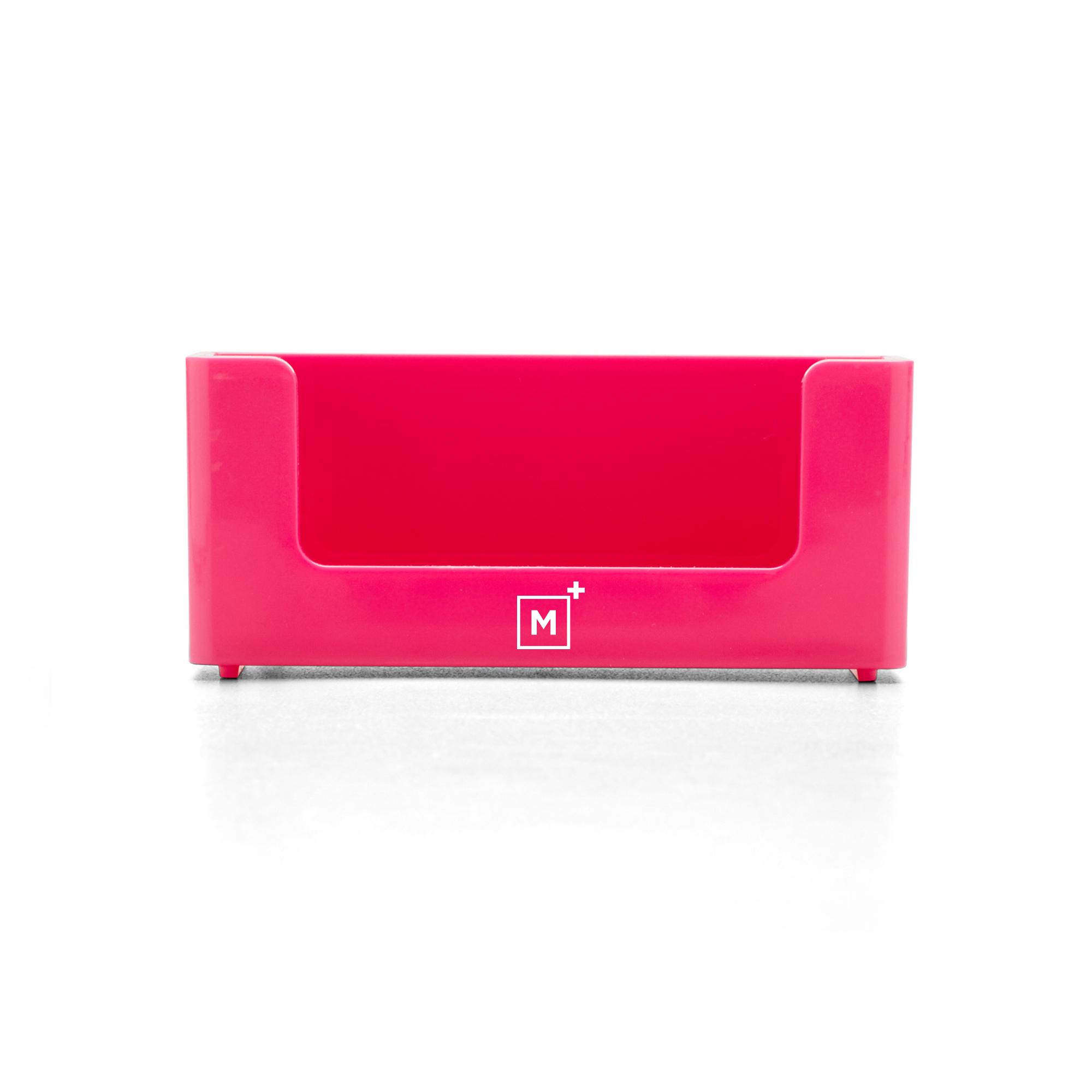 Custom Pink Business Card Holder Hi Res