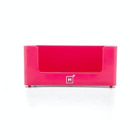 Custom Pink Business Card Holder