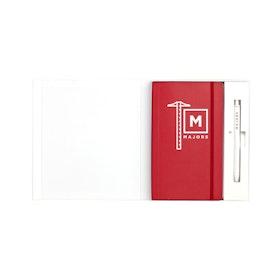 Custom Soft Cover Gift Box Set, Retractable Gel Luxe Pen,,hi-res