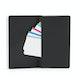 Custom Black Medium Soft Cover Notebook,Black,hi-res