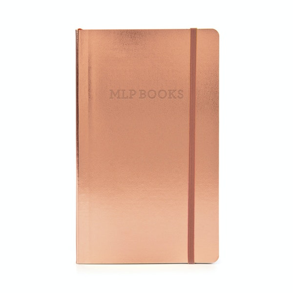Custom Copper Medium Soft Cover Notebook,Copper,hi-res
