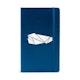 Custom Navy Medium Soft Cover Notebook,Navy,hi-res