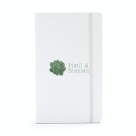 Custom Medium Soft Cover Notebooks,White,hi-res