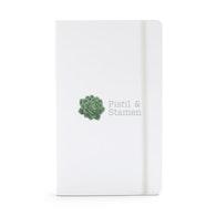 Custom Medium Soft Cover Notebooks,White,hi-res
