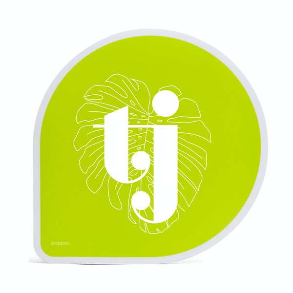 Custom Lime Green Mouse Pad,Lime Green,hi-res