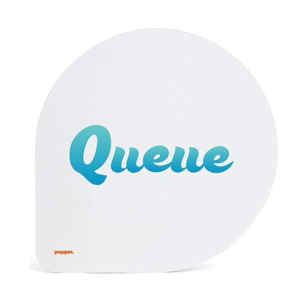 Custom White Mouse Pad,White,hi-res
