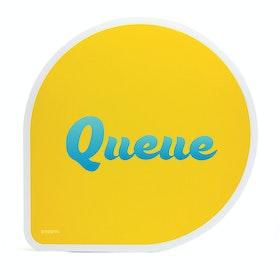 Custom Yellow Mouse Pad