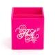 Custom Pink Pen Cup,Pink,hi-res