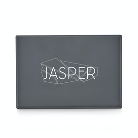 Custom Dark Gray Medium Slim Tray