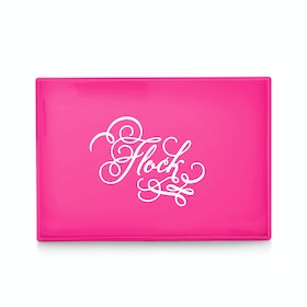 Custom Pink Medium Slim Tray