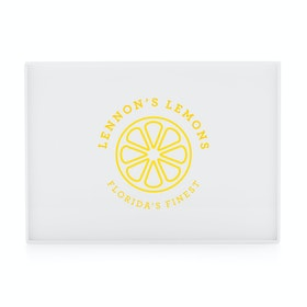 Custom White Large Slim Tray,White,hi-res