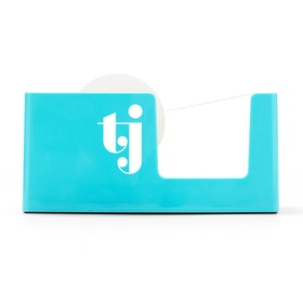 Custom Aqua Tape Dispenser,Aqua,hi-res