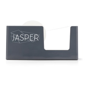 Custom Dark Gray Tape Dispenser