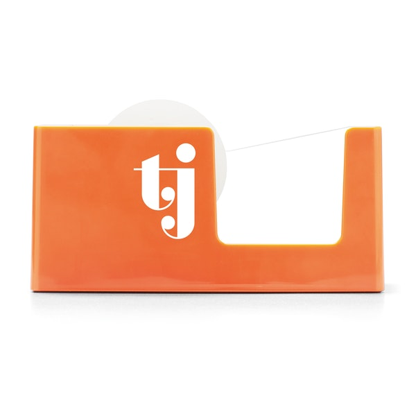 Custom Orange Tape Dispenser,Orange,hi-res