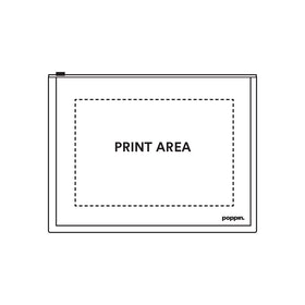 Custom Neon Pink Zip Folios