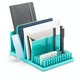 Aqua Home Base Desk Set,Aqua,hi-res