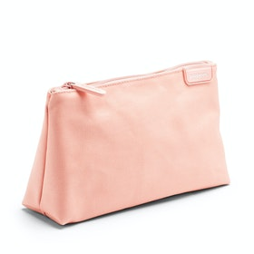 Blush + Light Gray Medium Accessory Pouch
