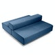 Dark Blue Block Party Lounge Back it Up Sofa,Dark Blue,hi-res